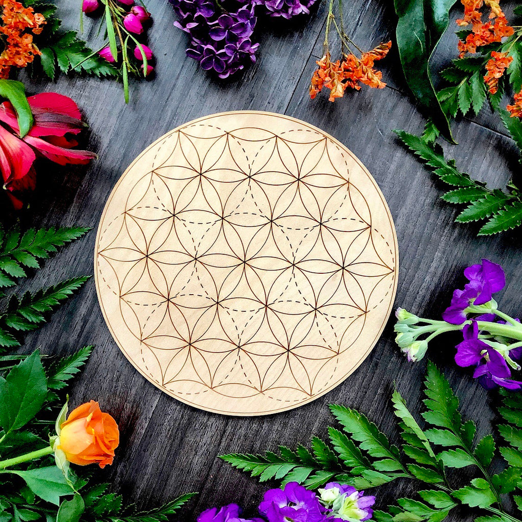 Crystal Grid | Flower Of Life