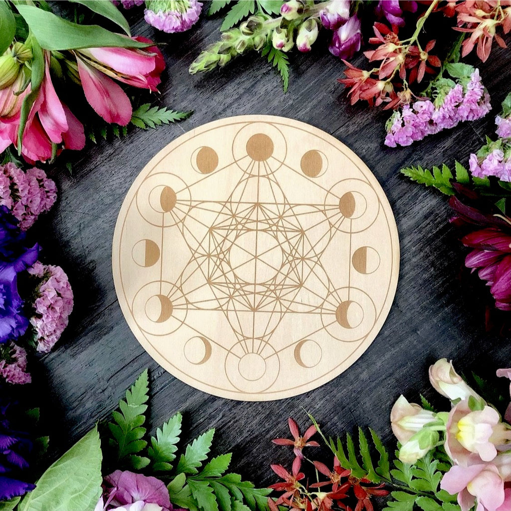 Crystal Grid | Moon Phase ~ Natural