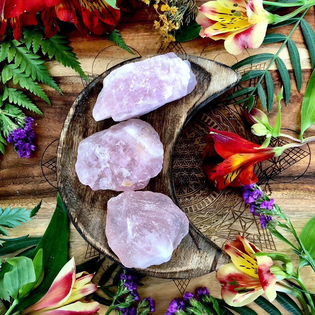 Rose Quartz | Raw Gem ~ Medium