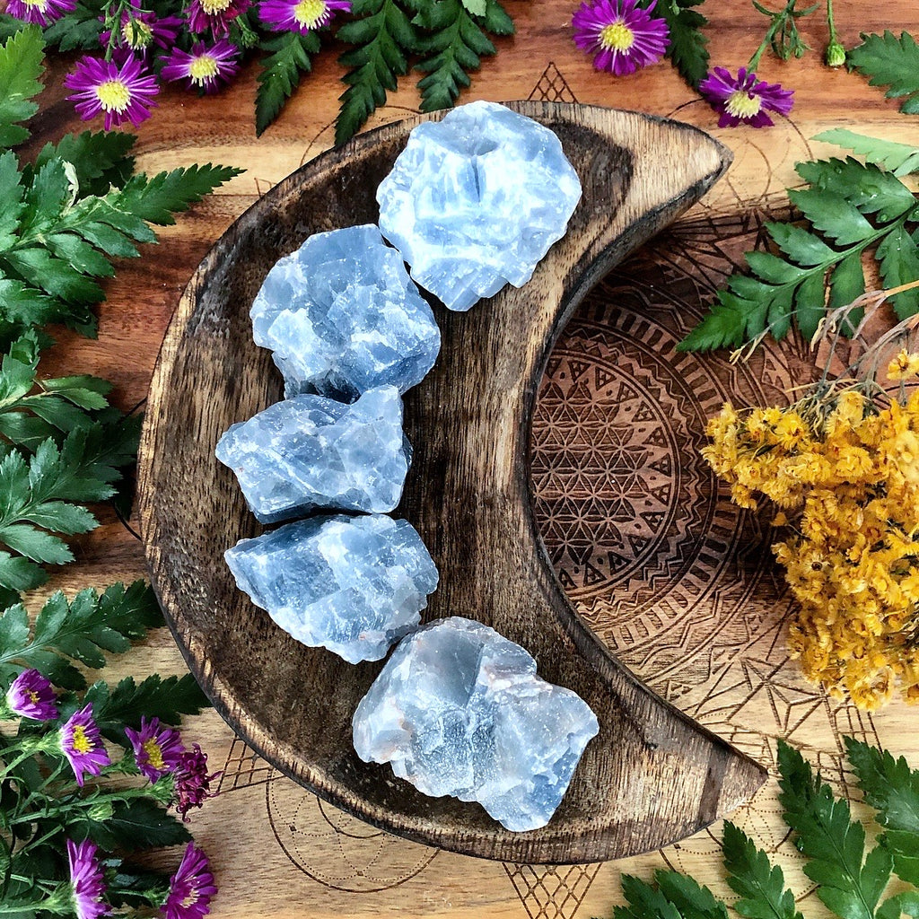 Blue Calcite | Raw Gem ~ Mini