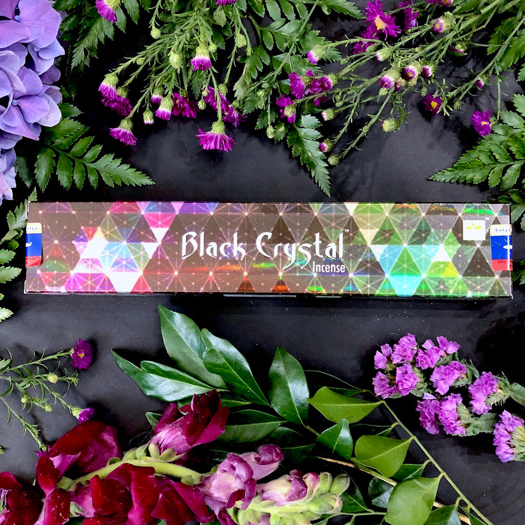 Satya Incense ~ Black Crystal