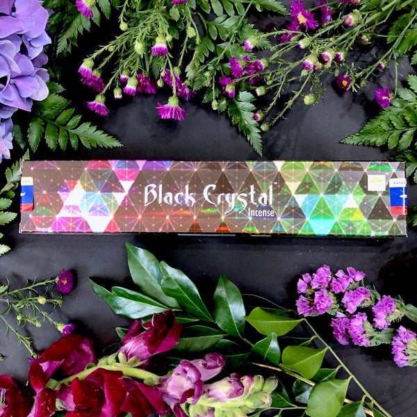 Incense Sticks ~ Black Crystal