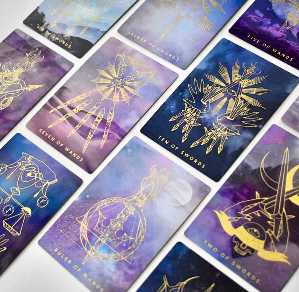 The Weaver Tarot ~ Journeyer
