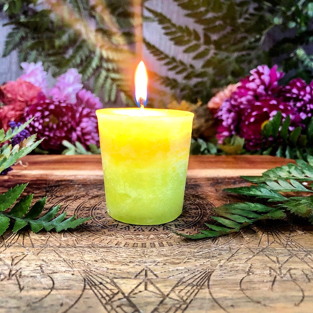 Scented Ritual Candle ~ Coconut Lime