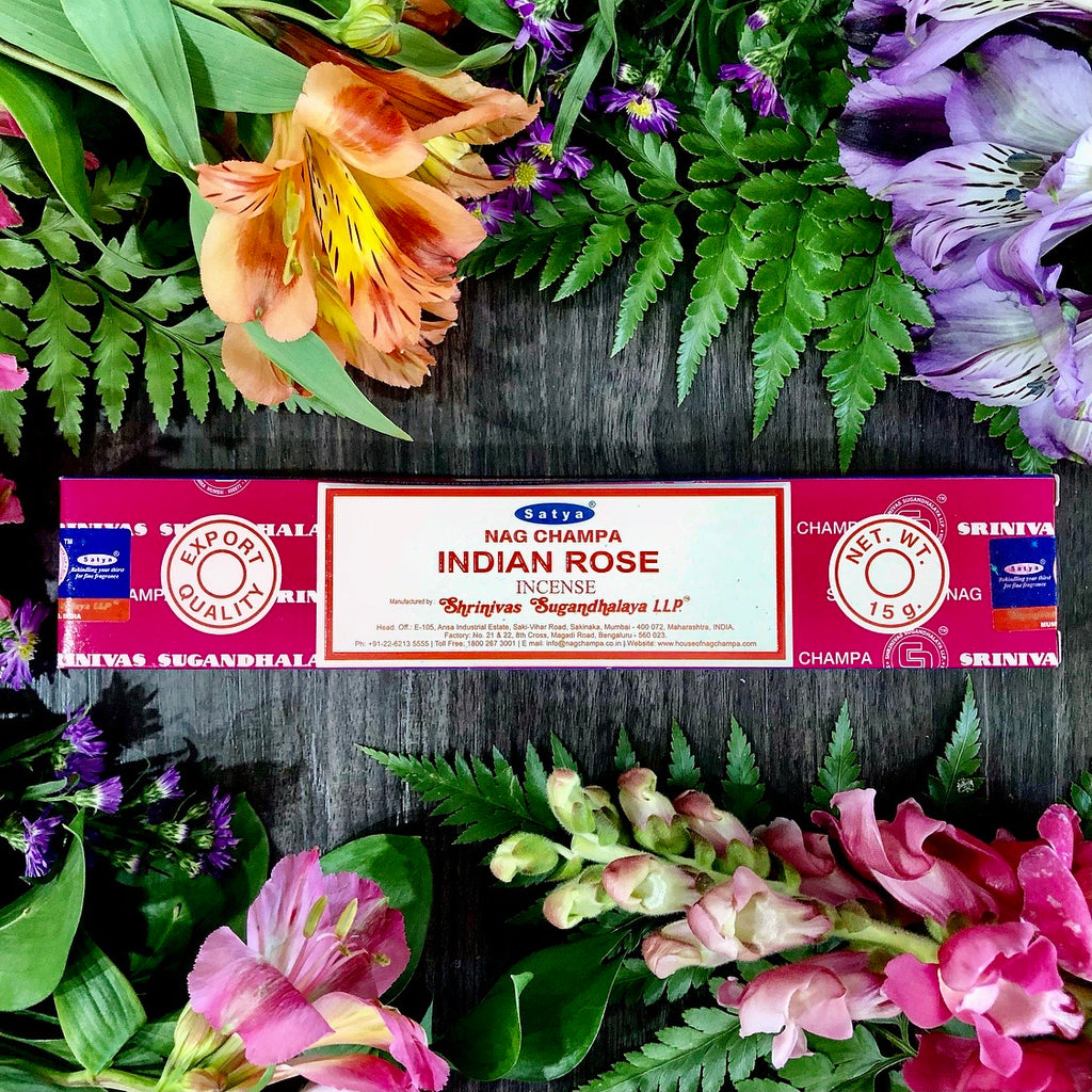Satya Incense ~ Indian Rose