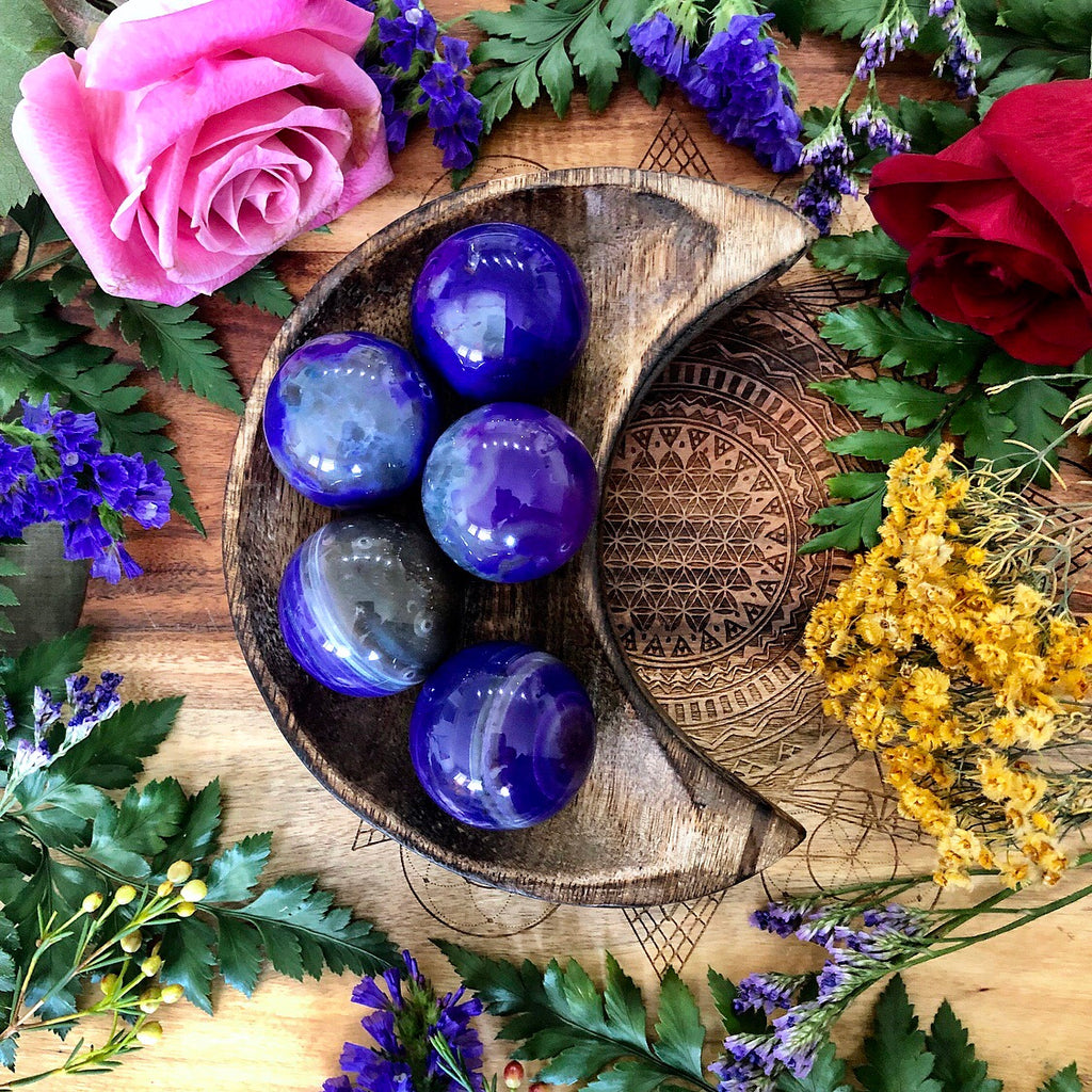 Agate Sphere | Mystic Purple