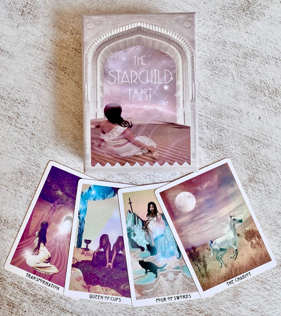 The Starchild Tarot Deck | Rose Portal Edition