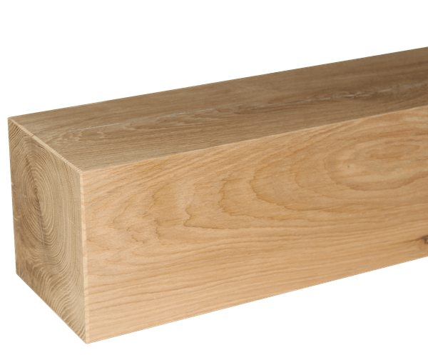 Solid oak beams