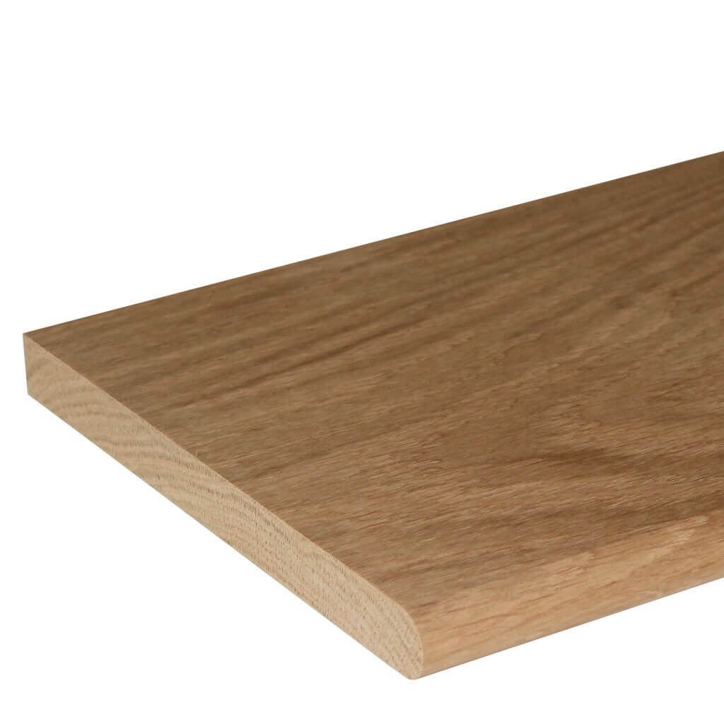20mm Bullnose Oak Window Sill Board