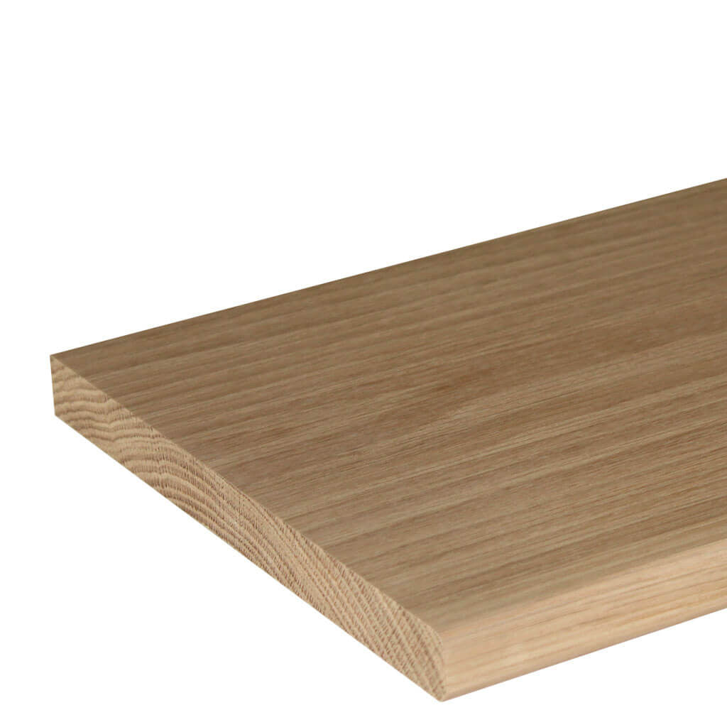 20mm Round Oak Window Sill Board
