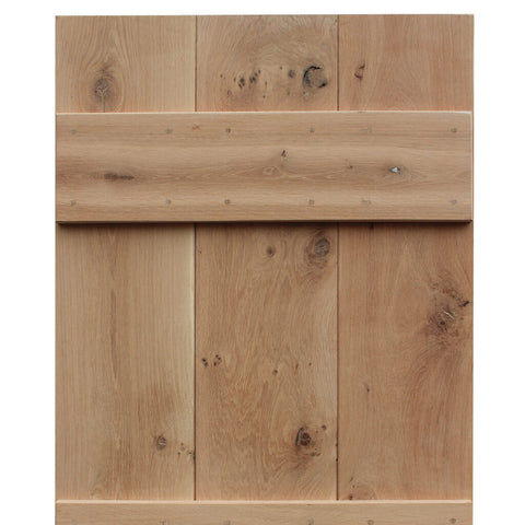 3 Board Oak Cottage Door Top