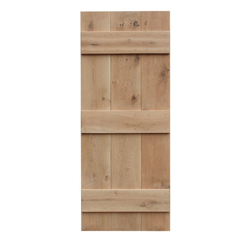 3 Board Oak Cottage Door