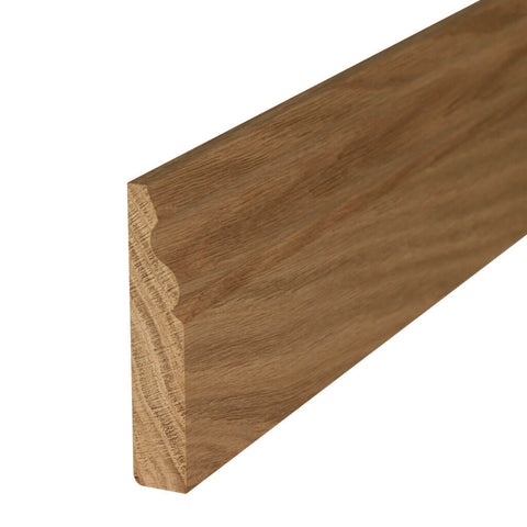Oak Ogee Skirting Board
