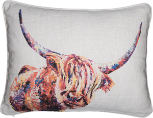 Highland Cow Cushions 'Olivia'