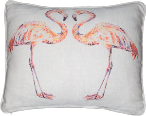 flamingo, flamingo cushion, flamingo gift