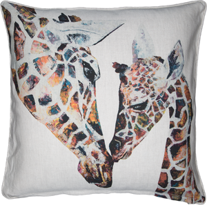 Giraffe Cushions 'Daisy & Holly'