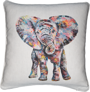 baby elephant, elephant cushion