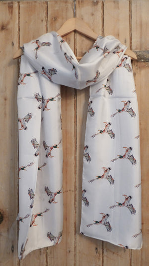 Duck cotton lawn scarf
