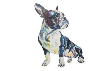 Boston Terrier 'Fernand' Giclee Print