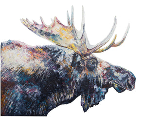 Moose 'Jed' Giclee Print