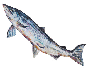 Leaping Salmon 'Mr Teviot' Giclee Print