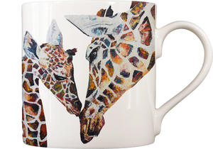 Giraffes 'Daisy & Holly' Fine Bone China Mug