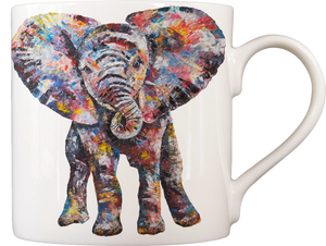 Baby Elephant 'Nelly' Fine Bone China Mug