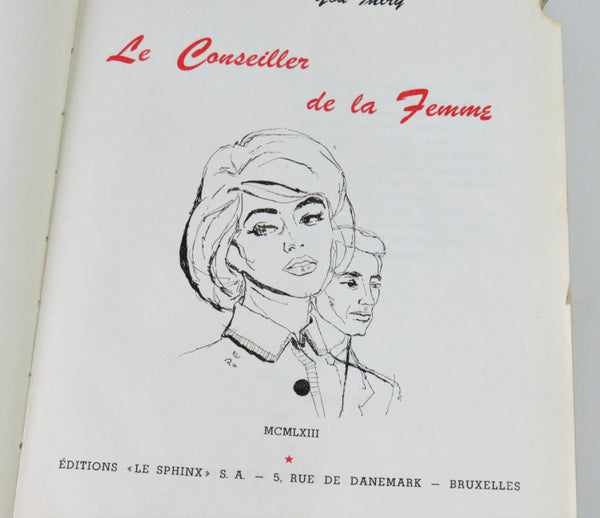 Mid Century French Woman Book