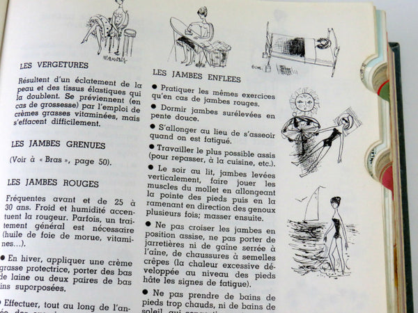 retro french book