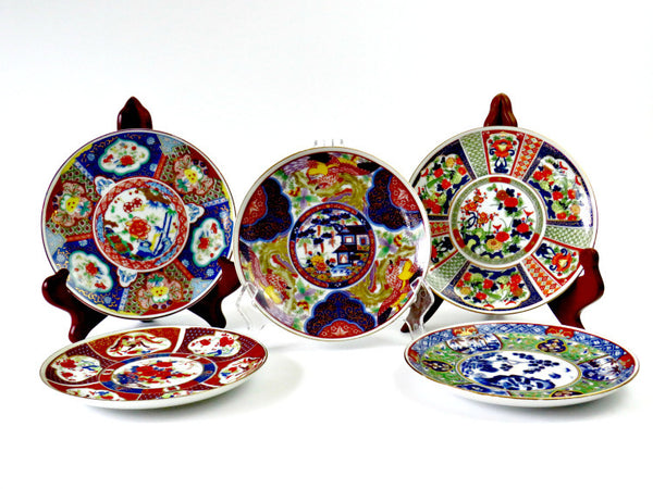 hand painted japan plates