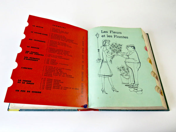 Vintage 1960's French Girl Book