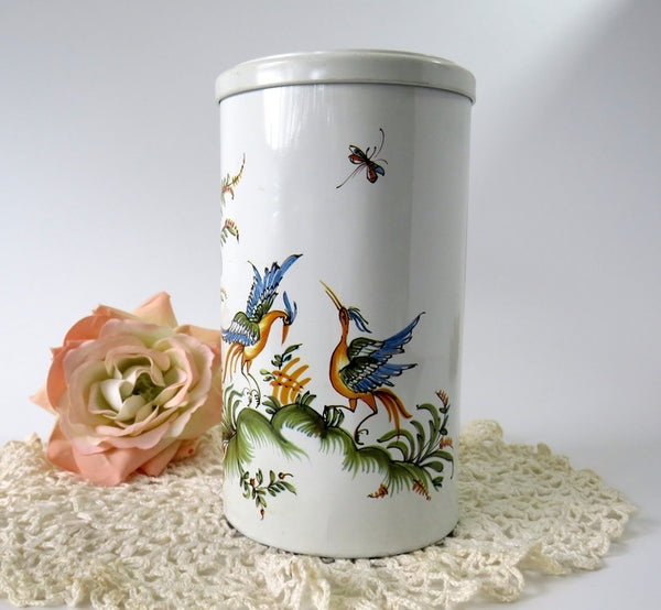 white french tin