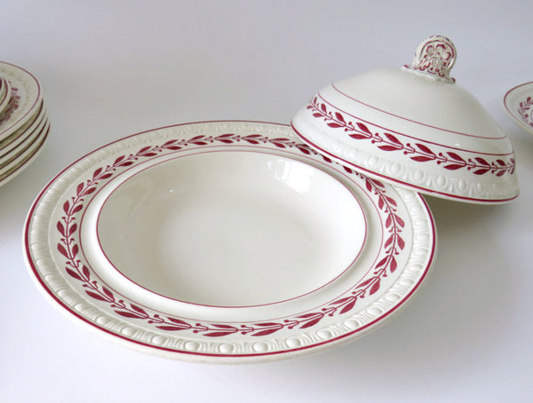 2 pc covered dish Copeland Spode