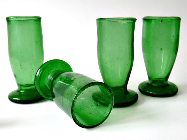 antique handblown cordials