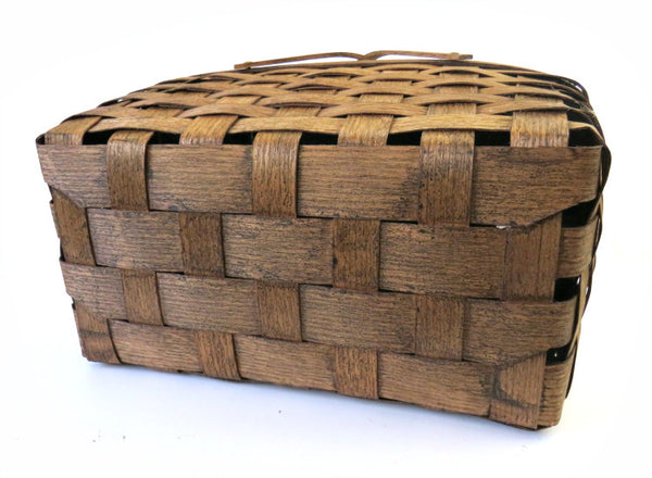 split wood basket