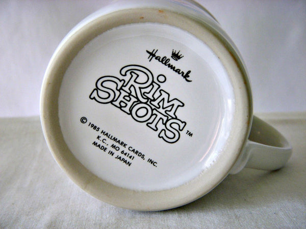 Hallmark Rim Shots Coffee Cup