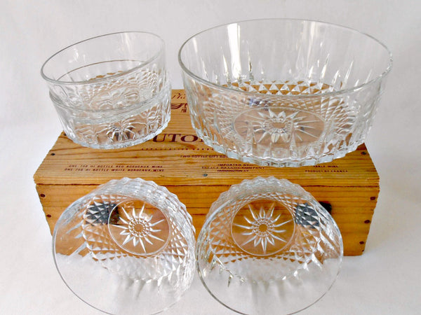 Arcoroc Durand Tempered Crystal Salad Set