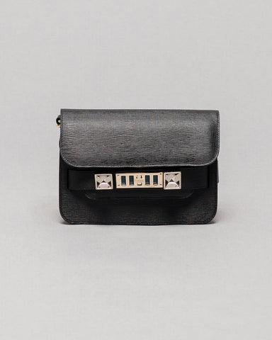 Proenza Schouler PS11 Black New Linosa Mini Classic
