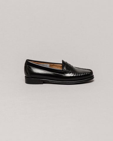 G.H Bass & Co. Weejuns Penny Loafers Black Leather Loafers