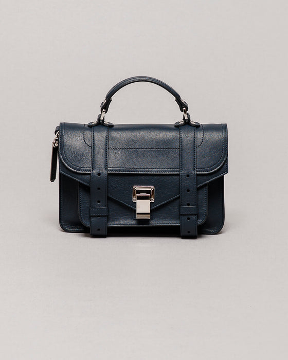 Proenza Schouler Navy PS1 Tiny
