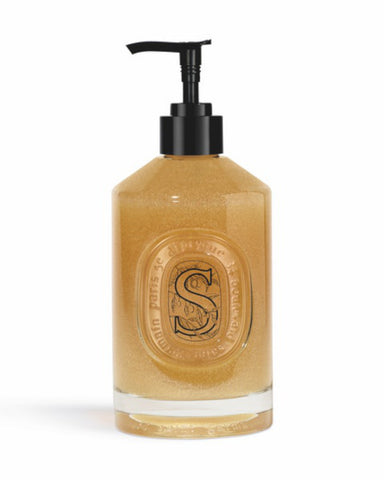 Diptyque Softening Exfoliating Hand Wash In 350ml Refillable Glass Bottle