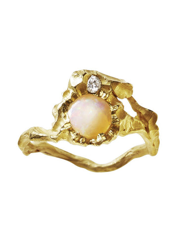 Elhanati Sun 1 ct. Opal Ring