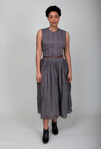 San Pancho Dress - Pitch Stripe