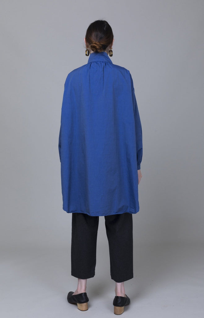 Gallego Desportes - Long Antik Blouse - Dark Blue - Verdalina