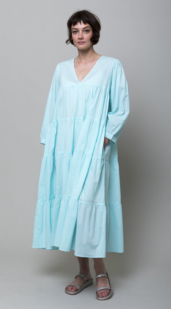 Mille - Gemma Dress - Blue Light - Verdalina