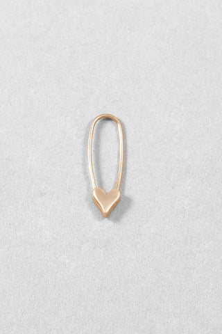 Arc Drop Earrings - Gold Plated