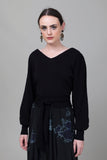 Merlette - Phillimore Sweater - Black - Verdalina