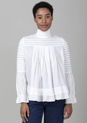 Ribbed Turtleneck Sweater - Ivory