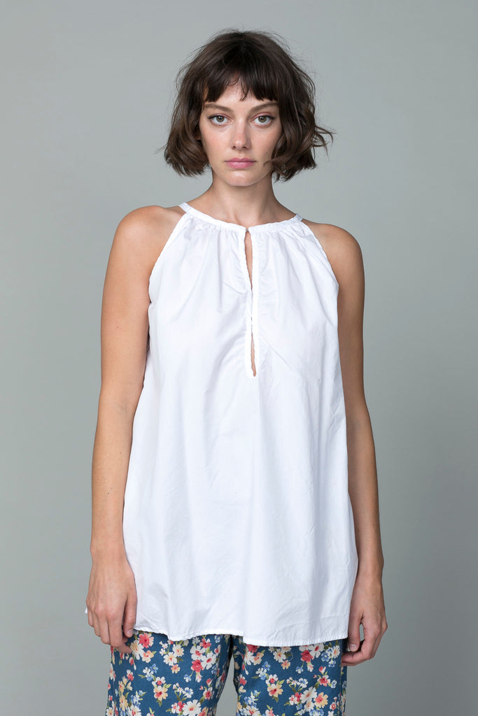 Pip-Squeak Chapeau - Swallow Top - White - Verdalina