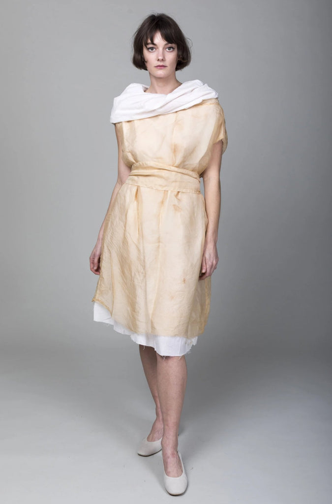 Pip Squeak Chapeau - Tea Stained Muffle Dress - Light - Verdalina